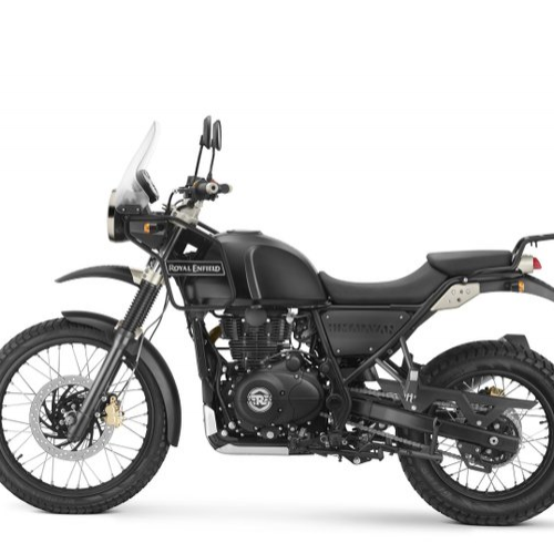 Royal Enfield Himalayan Color Black