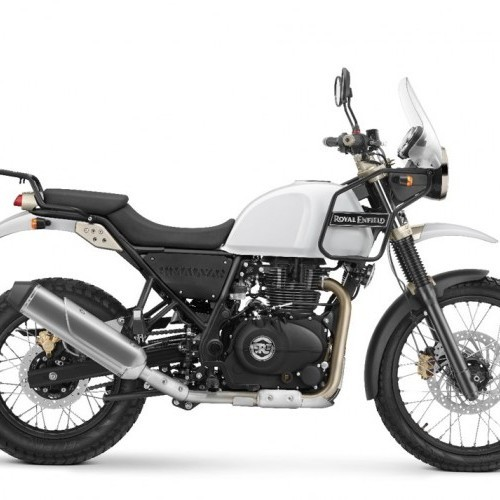 Royal Enfield Himalayan Color Snow White