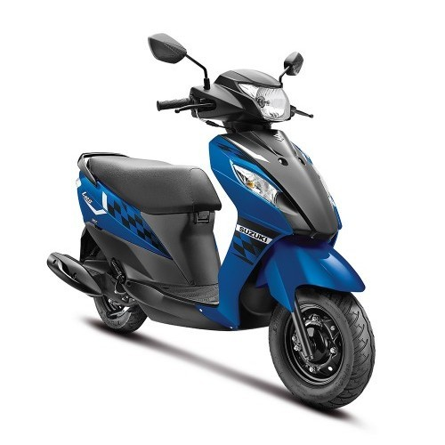 Suzuki Lets Scooter Dual Tone Colour Blue