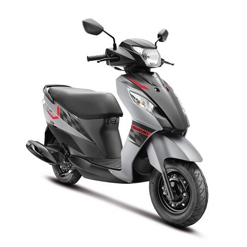 Suzuki Lets Scooter Dual Tone Colour Grey