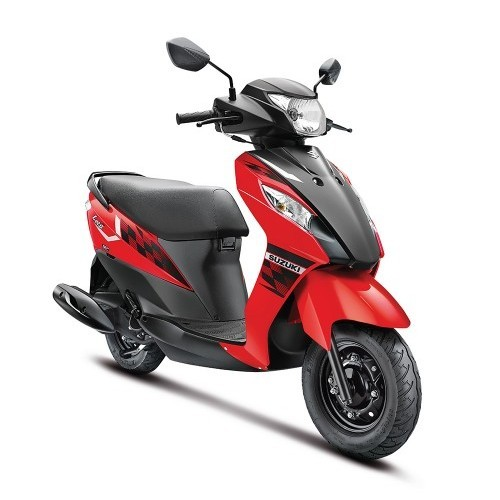 Suzuki Lets Scooter Dual Tone Colour Red