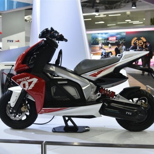 Tvs Creon Electric Scooter Side Profile
