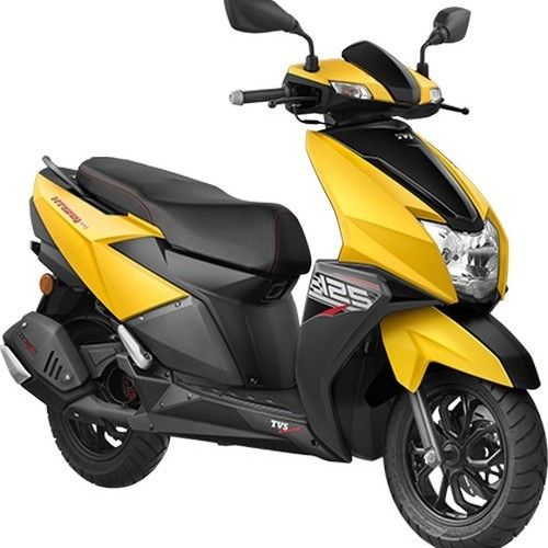 Tvs Ntorq Matte Yellow Color