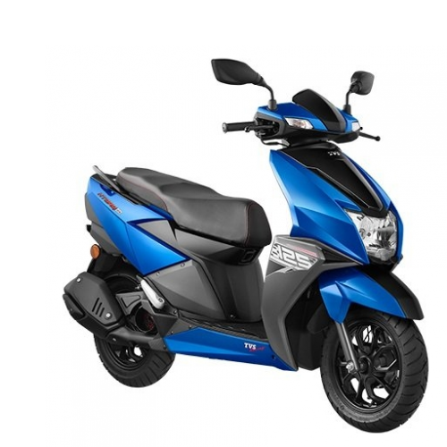 Tvs Ntorq Metallic Blue Color