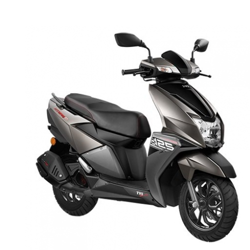 Tvs Ntorq Metallic Grey Color