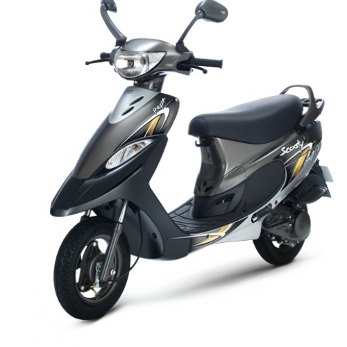 2016 Tvs Scooty Pep Plus Color Grey