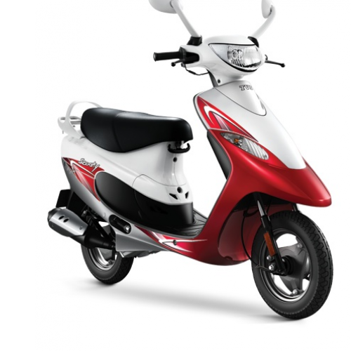 2016 Tvs Scooty Pep Plus Color Red
