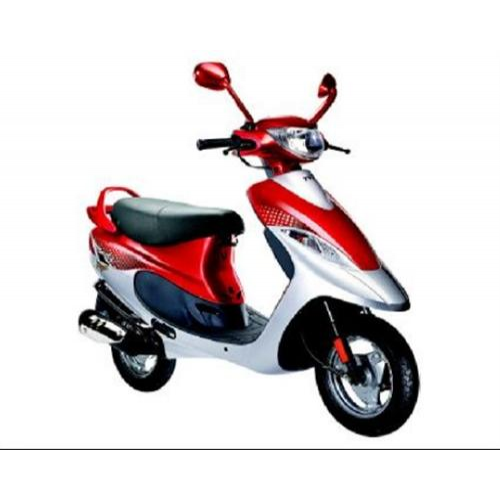 Tvs Scooty Pep Colour Blush Red