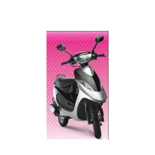 Tvs Scooty Pep Colour Frosted Black