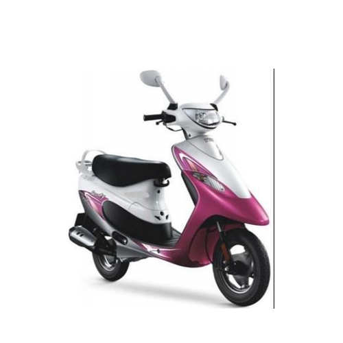 Tvs Scooty Pep Colour Perky Pink