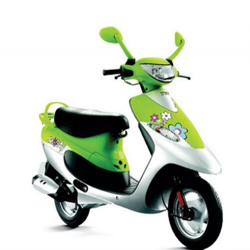 Tvs Scooty Pep Colour Spring Green