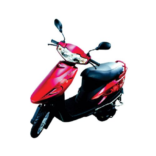 Tvs Scooty Teenz Colour Red