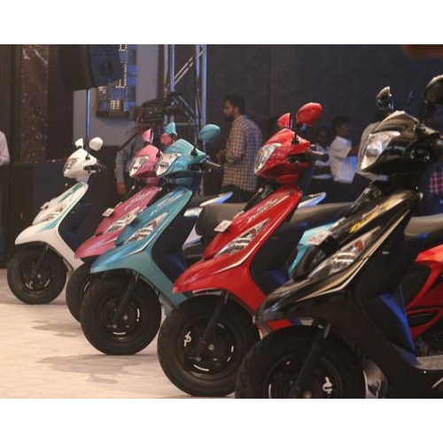 Tvs Scooty Zest Colours