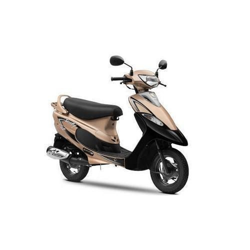 Scooty Pepplus Colour Glittering Gold