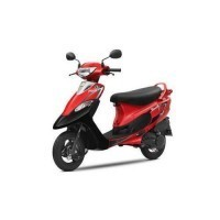 Scooty Pepplus Colour Revving Red