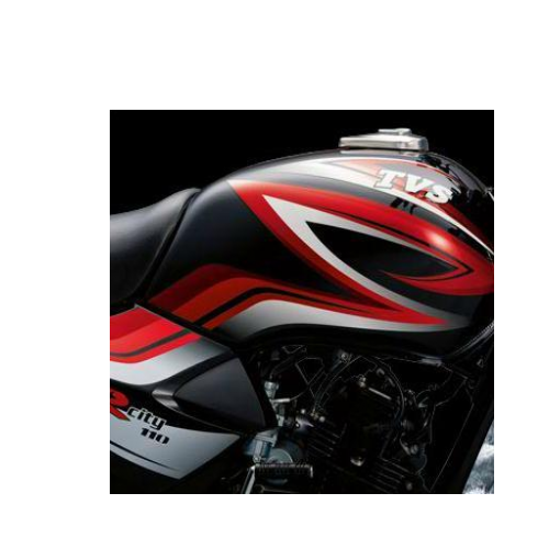 Tvs Star City Colour Black And Red