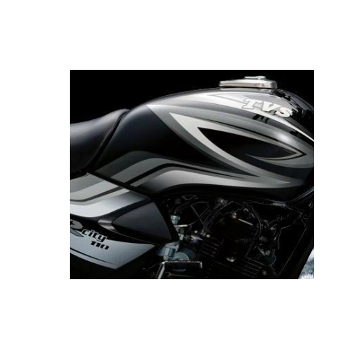 Tvs Star City Colour Black And Silver