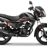 Tvs Victor Color Black Red Dual Tone