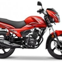 Tvs Victor Color Red