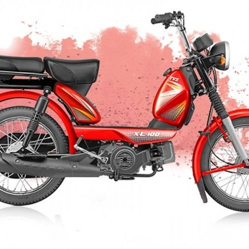 Tvs Xl 100 Color Red