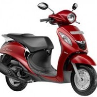 Yamaha Fascino Colour Rouge Red