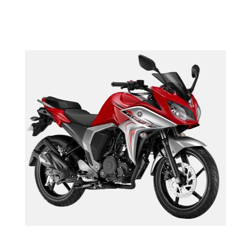 Yamaha Fazer Fi Version 2.0 Red Down