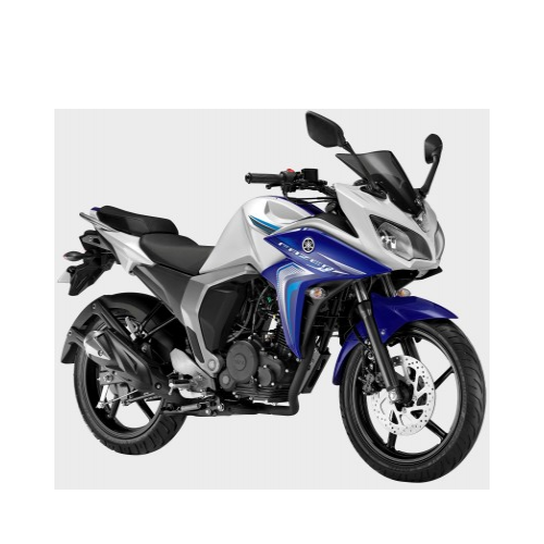 Yamaha Fazer Fi Version 2.0 White Cloud