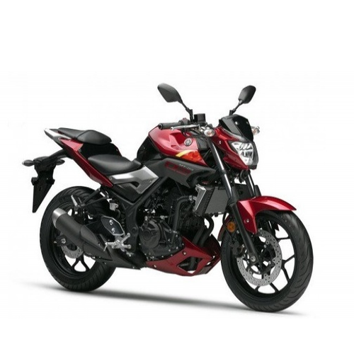 Yamaha Mt 03 Color Red