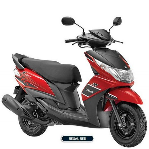 Yamaha Ray Z Colour Regal Red
