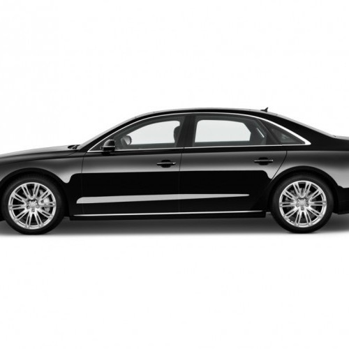 2011 Audi A8 L 4 Door Sedan Side Exterior View 100340264 L