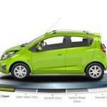 Chevrolet Beat Diesel Color Cocktail Green