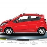Chevrolet Beat Diesel Color Over Red