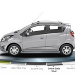 Chevrolet Beat Diesel Color Switch Blade Silver