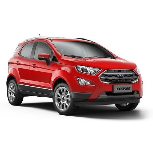 2017 Ecosport Race Red Color
