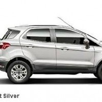 Ford Ecosport Colour Moondust Silver