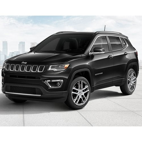 Jeep Compass Brilliant Black Color