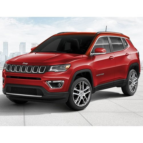 Jeep Compass Exotica Red Color