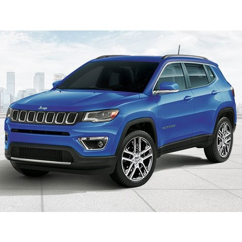 Jeep Compass Hydro Blue Color