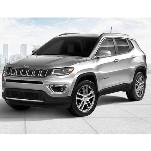 Jeep Compass Minimal Blue Color