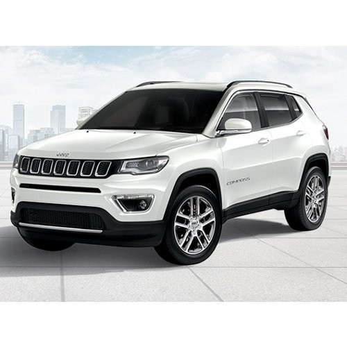 Jeep Compass Vocal White Color