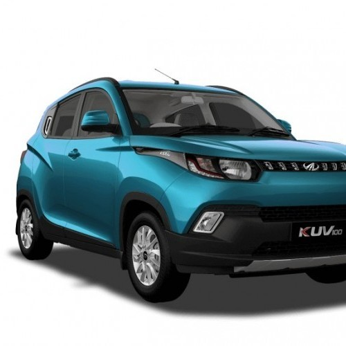 Mahindra Kuv 100 Color Aquamarine