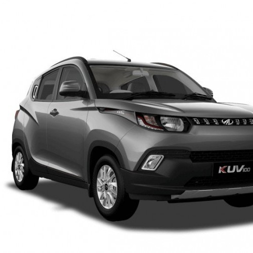 Mahindra Kuv 100 Color Designar Gray