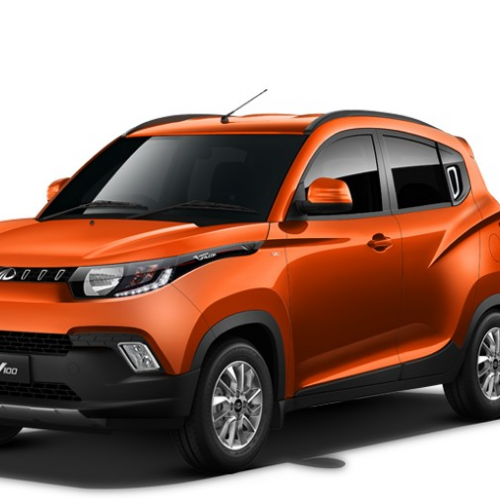 Mahindra Kuv100 Car Color