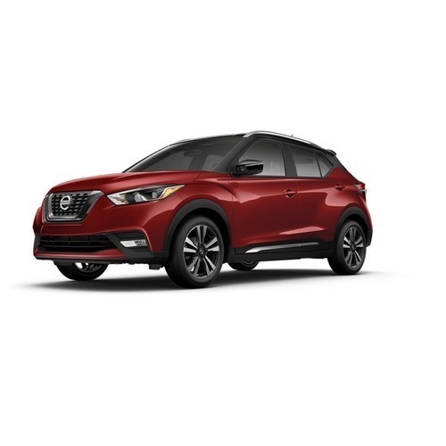 Nissan Kicks Cayenne Red And Super Black Color