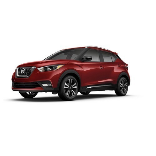 Nissan Kicks Cayenne Red Color