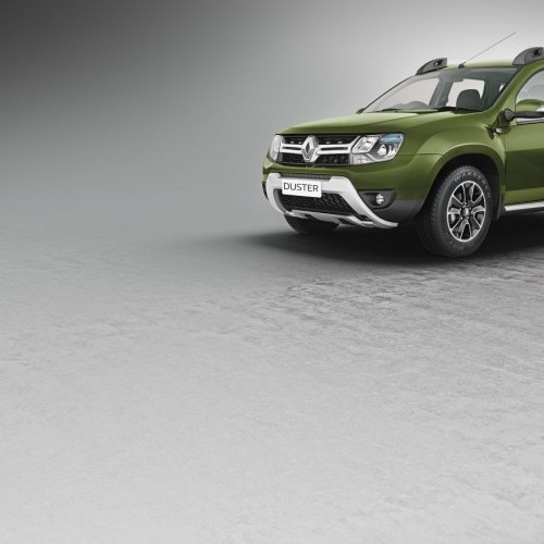 2016 Renault Duster Colour Amazon Green