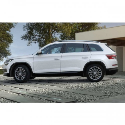 Skoda Kodiaq Moon White Color