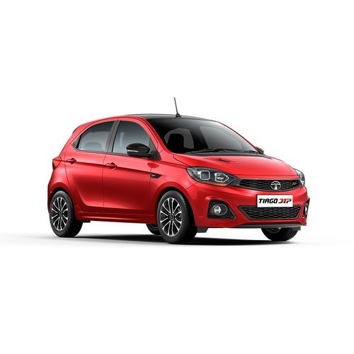 Tiago Berry Red With Glossy Black Roof