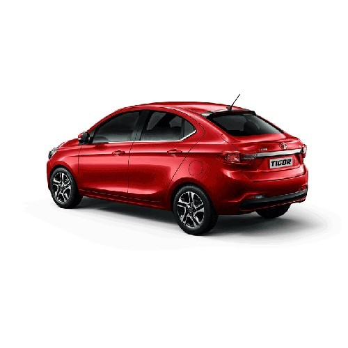 Tata Tigor Berry Red Colour