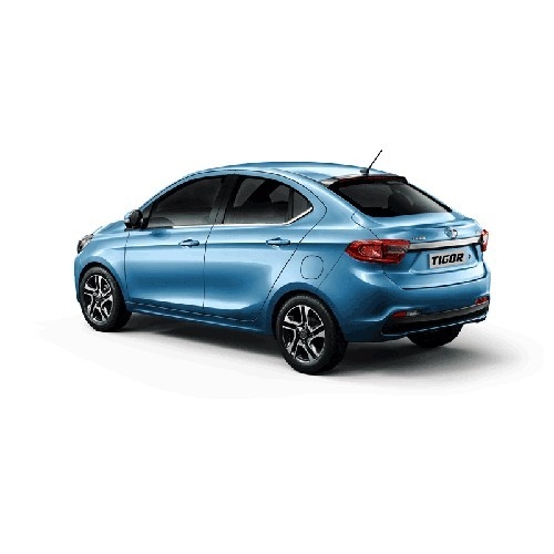 Tata Tigor Strike Blue Colour